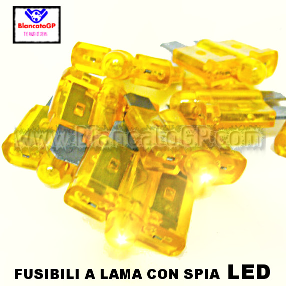 Fusibile a lama 10A con LED