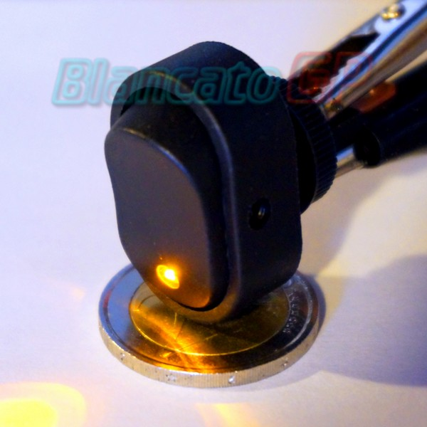 Interruttore B20 LED Giallo