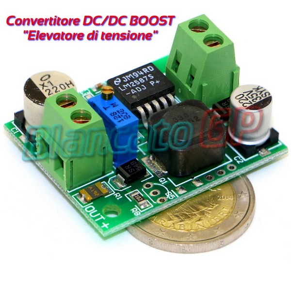 Convertitore DC-DC 3A STEP-UP