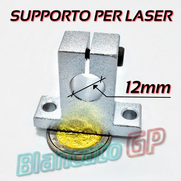 Supporto per moduli Laser 12mm [LS004]