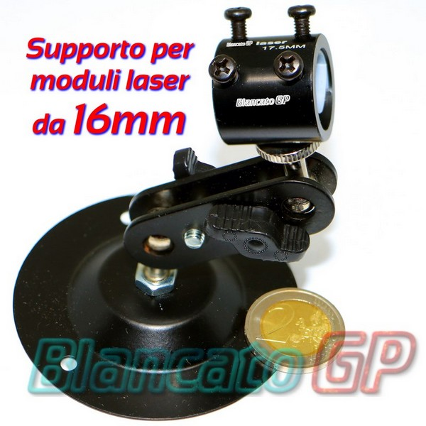Supporto per moduli laser 16mm [LS009]