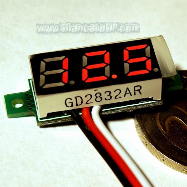 Micro voltmetro